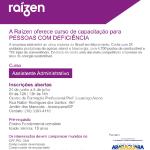 Empresa ministra curso para pessoas com deficiência – Araraquara-SP