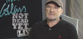 Phil Collins abandona aposentadoria e volta aos palcos