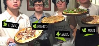 Jovens com Down abrem empresa de pizzas e eventos: sucesso